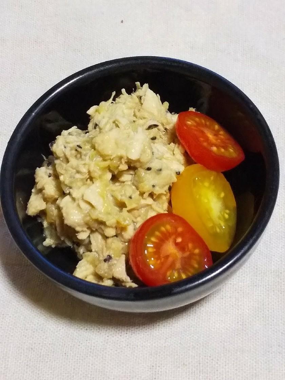 鶏胸肉とキウイのホロホロ煮