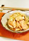 レンジで♪鶏キャベツのケチャップ味噌煮