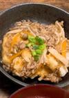 揚げだし豆腐と揚げだし筍の餡かけ