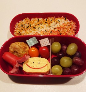 小学生(6年)入学式出席の日のお弁当