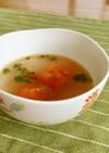 2分で完成!トマトサラダのリメイクスープ