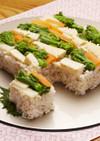 YOMEちゃんの春野菜の押し寿司