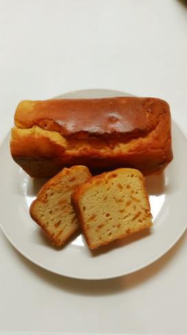 大豆粉とマーマレードのパウンドケーキ