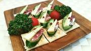 簡単おつまみ♡チーサラ(チーズ&サラミ)の写真