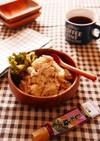 鶏胸肉とじゃがいものしそ梅マヨ和えサラダ
