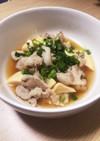 筍と豚バラの煮物