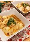優しい味の麻婆豆腐