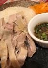 炊飯器で簡単☆鶏もも肉カオマンガイ