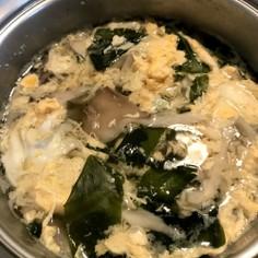 包丁いらず サラダチキン出汁わかめスープ