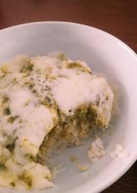 コストコ バジルペースト チーズご飯