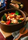 ANFI土鍋で簡単♪トマト風味のポトフ
