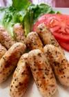 ダイエット中♡鶏胸肉でソーセージ風