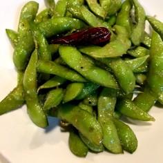 リケンのノンオイルうま塩☆ガーリック枝豆