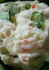 きゅうりとカニかまのポテトサラダ♪
