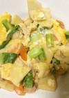 鶏肉と筍の卵とじ(お丼でもどうぞ)
