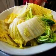 白菜大量消費~電子レンジで塩味炒め