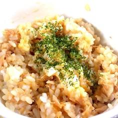 レンチン簡単ツナメルトご飯