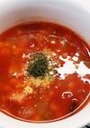 簡単!ヤミツキ!もち麦のトマトスープ♪
