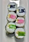 寿司型・模様巻き(こいのぼり2019)
