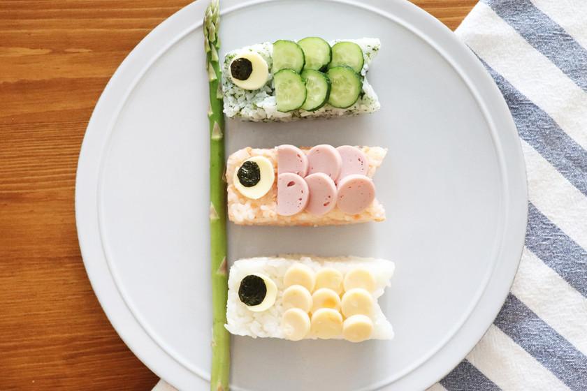 牛乳パックで作ろう!こいのぼり寿司