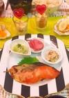 4月26日 献立 鮭の西京漬け