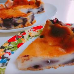 究極簡単♡ブルーベリーヨーグルトケーキ