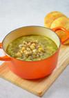 ひよこ豆とレンズ豆のスープ