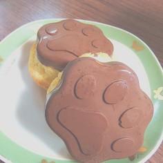 シリコン型で♪簡単プチケーキ!