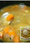 ツナ味噌汁とリメイクカレー