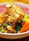 一人暮らしの野菜のお浸し 野菜袋を作ろう