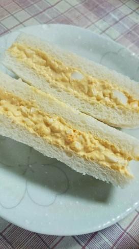 ホイッパーで簡単卵サンド‼