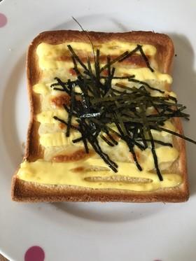 新悪魔トースト、マヨネーズ×チーズ×海苔