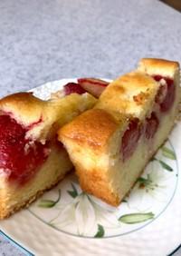 ☆イチゴの生パウンドケーキ☆