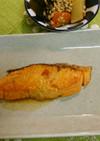 甘鮭のバター照り焼き