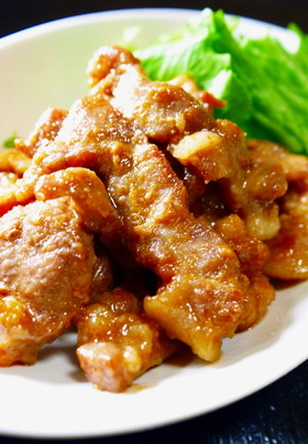 豚ロース肉★こってり味噌焼きチャーシュー