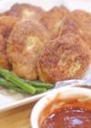 ササミと大豆のナゲット