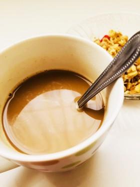 栄養満点!美肌黒豆きな粉カフェオレ