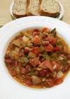 ハワイ家庭の味、ポルチギービーンズスープ