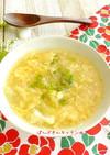 技あり♪レタスと玉子のとろふわスープ
