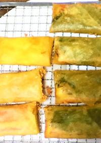 春巻き カニカマ×大葉×チーズ