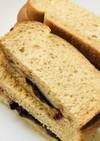 ブルーベリージャム&チーズトーストサンド