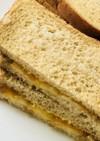 マーマレードジャム&チーズトーストサンド
