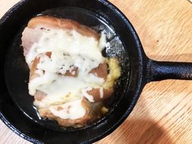 豚の角煮のとろーりチーズアレンジ