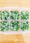 離乳食中期☆小松菜としらすの出汁煮