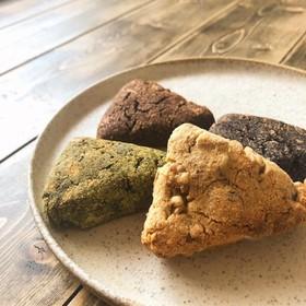 大豆粉とおからパウダーの簡単スコーン