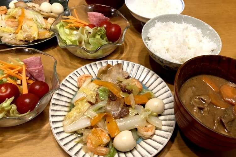 ご飯 レシピ 夕