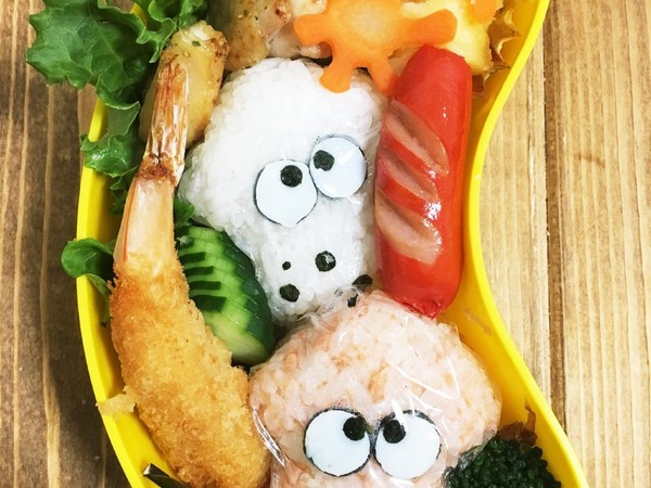 遠足や運動会に簡単スプラトゥーン弁当!