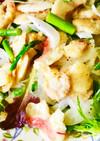 ♪鯛とホタテ色鮮やかカルパッチョ風サラダ