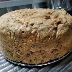 オリーブオイル使用ふすまパン無水鍋で
