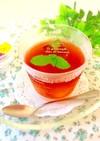 わらび餅in紅茶ゼリー